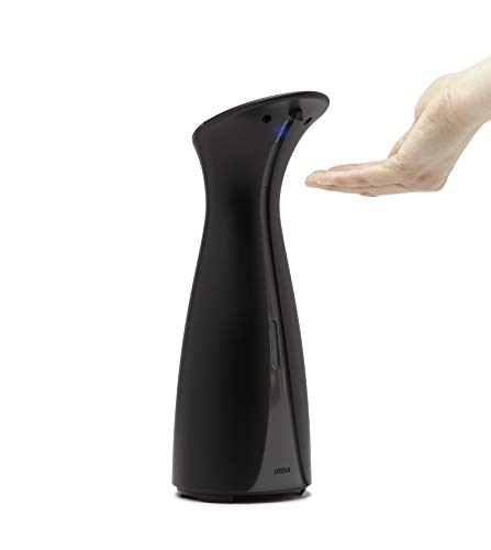 Umbra Automatic Soap Dispenser Touchless, Sanitizer, Hands Free Pump for Kitchen or Bathroom, Also Works