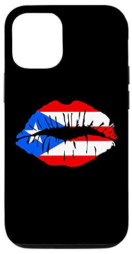 iPhone 12/12 Pro Puerto Rico Pride | Girl Lips Boricua Flag Case