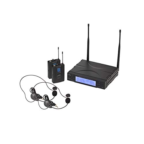 Soundsation WF-U2300PP - Radio micrófono UHF True Diversity con doble arco