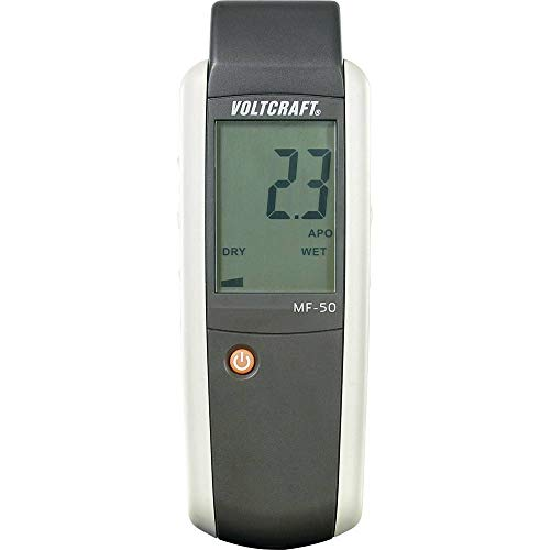 VOLTCRAFT MF-50 Materialfeuchtemessgerät Messbereich Baufeuchtigkeit (Bereich) 0 bis 100{6f751c87b8bb98d34009fc1ccade05eb86f1c3238de830f08a6ac114ef390509} vol Messbereich Holzfeuchtig