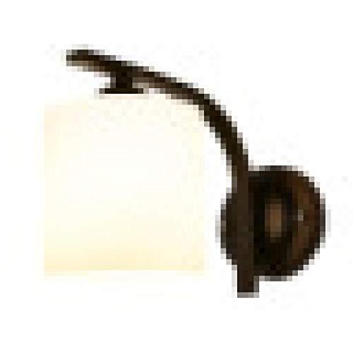 Lámpara De Pared Aplique De Pared Iluminacion De Pared Nordic Led Lámpara De Pared PaísLámpara DeNoche Creativa Pasillo De Hierro Forjado Pasillo Pasillo Espejo Faro Retro Solo Cabeza