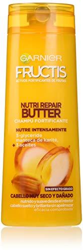 Garnier Fructis Nutri Repair Butter Champú Pelo Muy Seco y Dañado - 360 ml