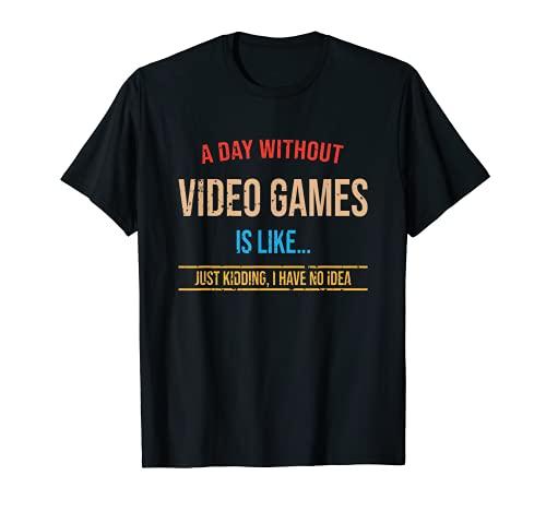 Maillot de jeu vidéo pour gamer - Assorti à votre chaise de jeu - Gaming T-Shirt
