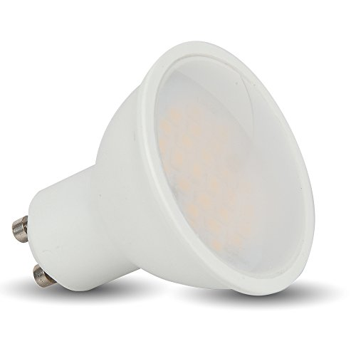 Preisvergleich Produktbild VT-1975 5 W GU10 Led Strahler Spot Einbaulampe 170 - 240 V SMD LEDs 4500 Kelvin naturweiß VT-1871