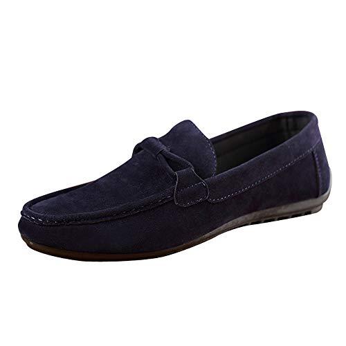 Celucke Driver Mokassins Herren, Klassische Driving Schuhe Weichs Comfort Wildleder Loafers Freizeit Flache Fahren Slippers