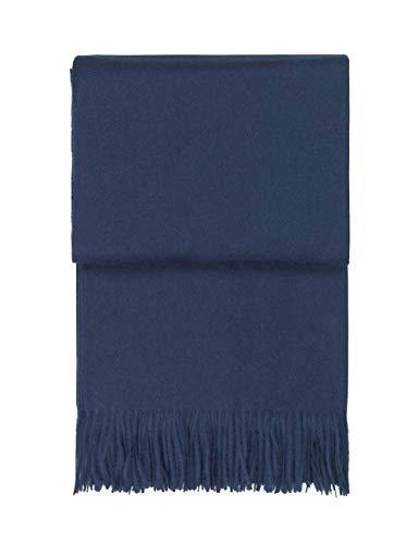 Elvang Classic Plaid aus peruanischer Schurwolle 130x200 Dark Blue