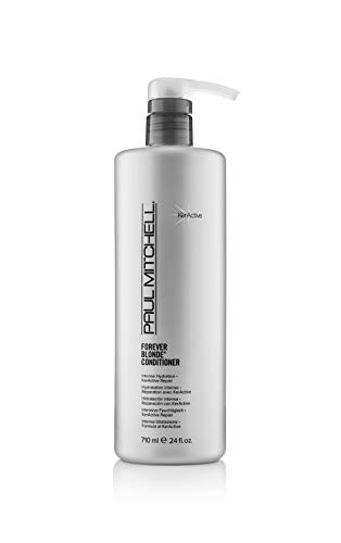 Paul Mitchell Forever Blonde Conditioner - Pflegespülung für blondes, aufgehelltes Haar und Highlights, entwirrt und spendet Feuchtigkeit, 710 ml