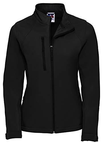 Russell Damen Softshell Jacke, Größe:XS, Farbe:Black