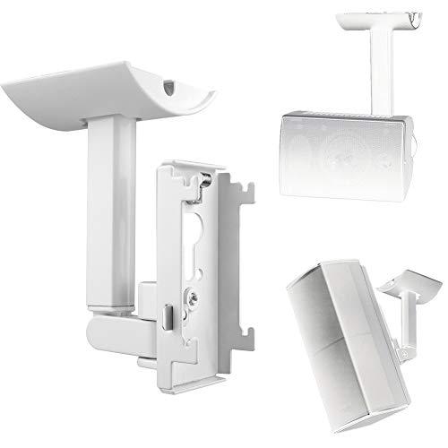 CVERY Wandhalterung für Deckenhalterung für Bose UB-20II, Lautsprecher-Halterung aus Stahl, platzsparend, mit Befestigungselementen für Audiosysteme von Heimkino
