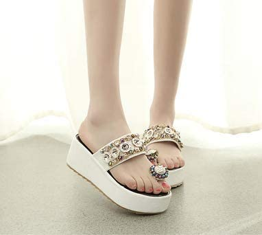 zym Sandals Female New popularity Summer All-Match Thick Wear At the price Muffin Platform