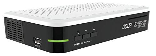 Schwaiger DVB-T2-ontvanger, digitale freenet HD-ontvanger (freenet gecertificeerd), ontvanger met Irdeto-decodesleutelsysteem en H.265/HEVC Codec DTR700HD