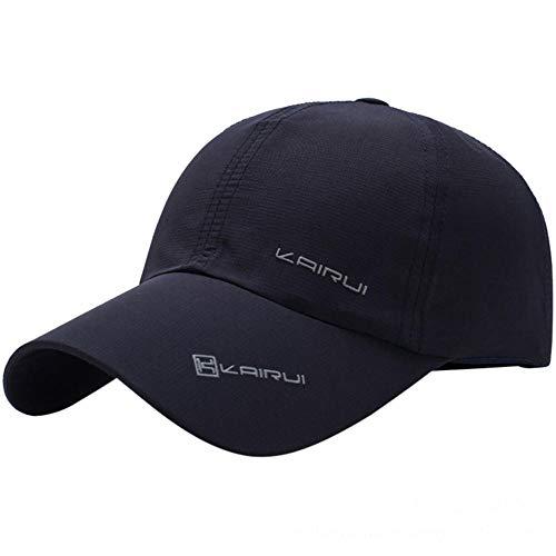 YDXC Caps Sport Baseball Mesh Hat Los Hombres Ejecutan Gorras de Visera de Verano de Secado rápido Ajustables Snapback Sombreros Casuales se aplican a Correr Pesca Golf Escalada etc-NY_Style