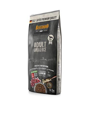 Belcando Adult Lamb & Rice Hundefutter | Trockenfutter für empfindliche Hunde | Alleinfuttermittel für ausgewachsene Hunde ab 1 Jahr (12,5 kg)