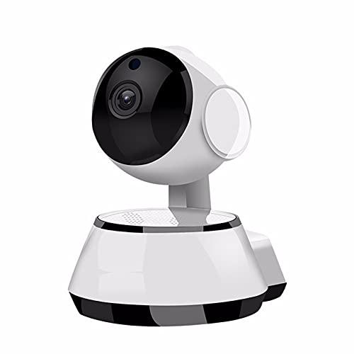 TONG Cámara para Mascotas Giratoria De 355 °, Cámara HD De 1080P para Mascotas Y Bebés, Alarma De Detección De Humanoide Inteligente Al, Visión Nocturna, Almacenamiento En La Nube, Audio Bidirecciona