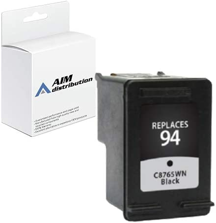 AIM Compatible Replacement for HP NO. 94 Black Inkjet (480 Page Yield) (C8765W) - Generic