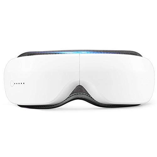 Preisvergleich Produktbild Doppeldruck-Augenmassagegerät Vibrationsmassage Komfortable Heißkompressions-Augenmessgerät Intelligente Bluetooth-Stimme Intelligente Steuerung Augenmassagegerät
