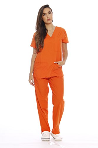 22250V-XL Orange Just Love Women