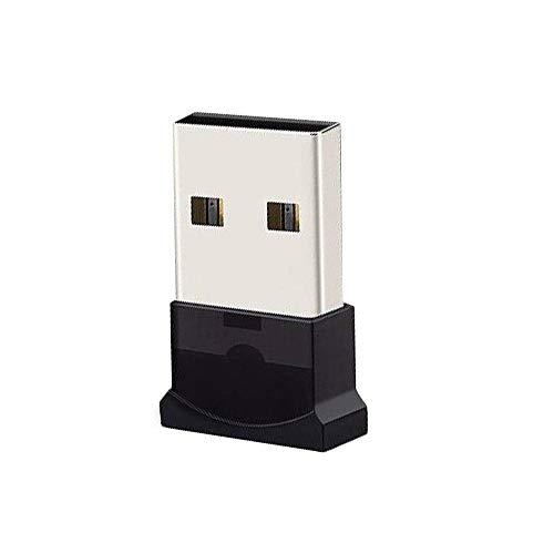AIRENA USB Bluetooth Nano Adaptador Stick Dongle para PC con Windows 10, 8, 7, XP, Vista | Plug & Play | Insertar & Uno chlaten, admite BT Auriculares, Altavoces, Ratones, Teclado, etc