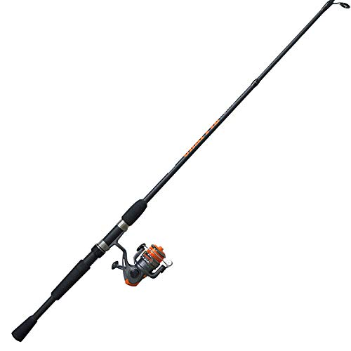 Zebco CRFUL562ULA.NS4 Zebco Crappie Fighter Spinning Combo, 4.3: 1 Gear Ratio, 1 Bearing, 5'6' 2pc Rod, 2-6 lb Line Rate, Ambidextrous