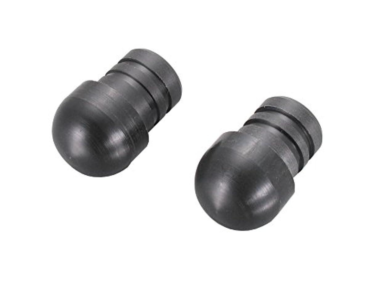 永続シエスタ質量キタコ(KITACO) バーエンドキャップ(樹脂製) 汎用 押し込み装着タイプ ブラック 506-0000001