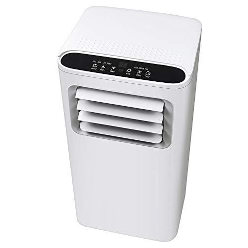 Condizionatore portatile Enshey 7000 BTU 3 in 1 con tubo di scarico per casa, casa e ufficio