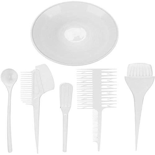 YMZ Lot de 6 outils de teinture pour cheveux - Bol de teinture - Pour teinture et teinture