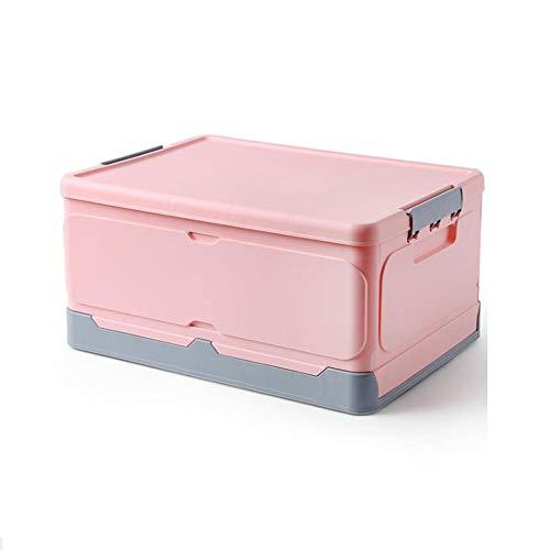 Desktop Storage Box doorzichtige plastic opbergdoos sieraden Organizer Holder Kasten,Pink,XL