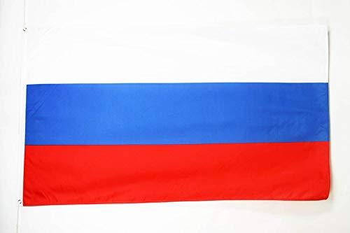 AZ FLAG Flagge Russland 90x60cm - RUSSISCHE Fahne 60 x 90 cm - flaggen Top Qualität
