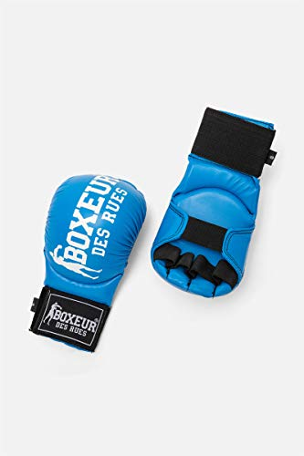 BOXEUR DES RUES - Karate And Fit-boxing Gloves In Blue, Unisex