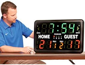 portable electronic scoreboard with remote sk2229r