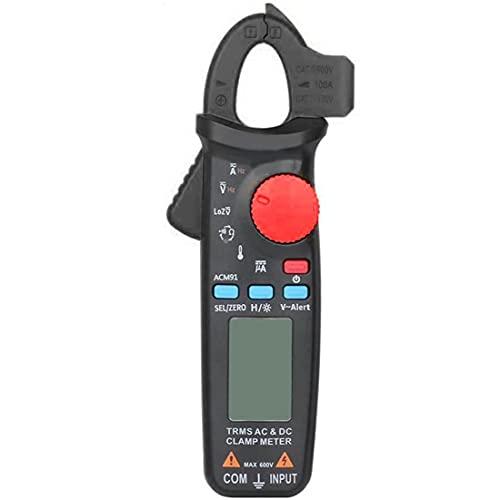 Multímetro Digital Multi Probador Del Amperímetro Del Voltímetro Ohmímetro Ac/Dc Ohm Voltios Amperios Y Voltaje Del Metro Del Probador De Diodos