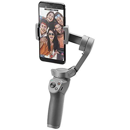 DJIOsmoMobile3 - Handgeführter Smartphone-Gimbal mit Stabilisierung auf 3Achsen für Vlogging, Youtuber, Live-Video und Handystabilisierung für...