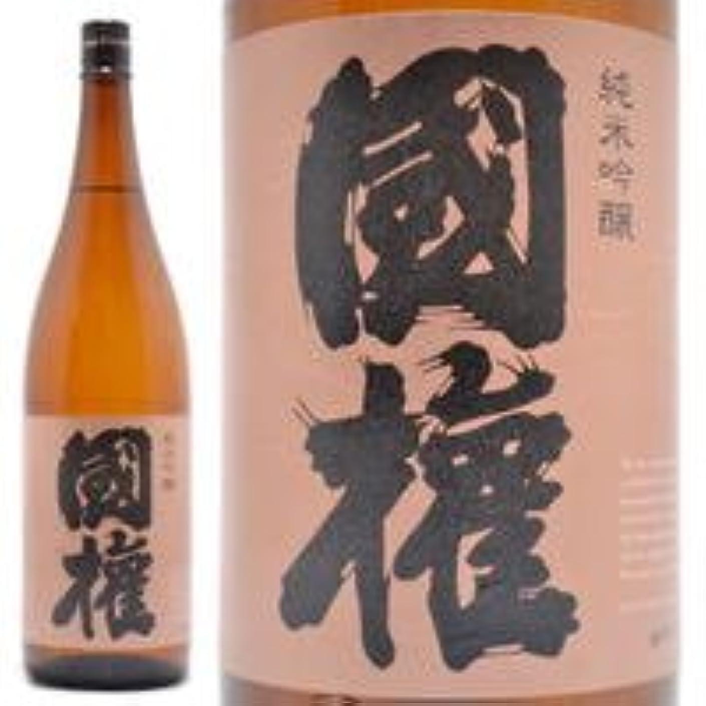 うなるアプライアンス形状福島県 国権酒造 純米吟醸酒 国権 (こっけん) 銅ラベル 1800ml