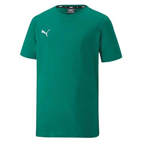 PUMA Unisex Kinder, teamGOAL 23 Casuals Tee Jr T-shirt, Pepper Green, 152