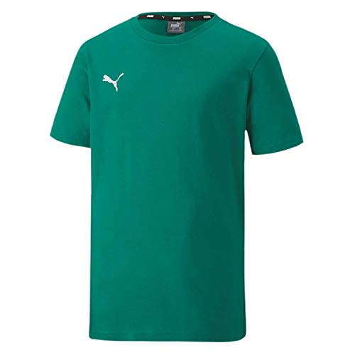 PUMA teamGOAL 23 Casuals Tee Jr T-Shirt, Pepper Green, 176