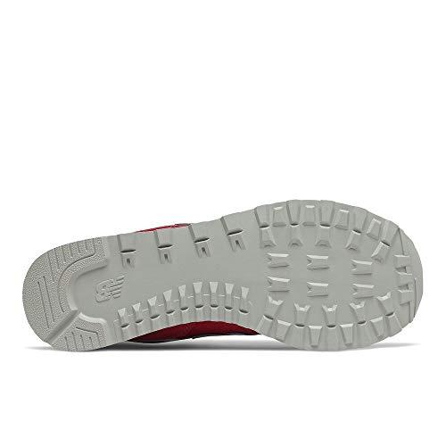 New Balance 574 Core Plus Pack, Zapatillas Hombre, Rojo Blanco, 44 EU