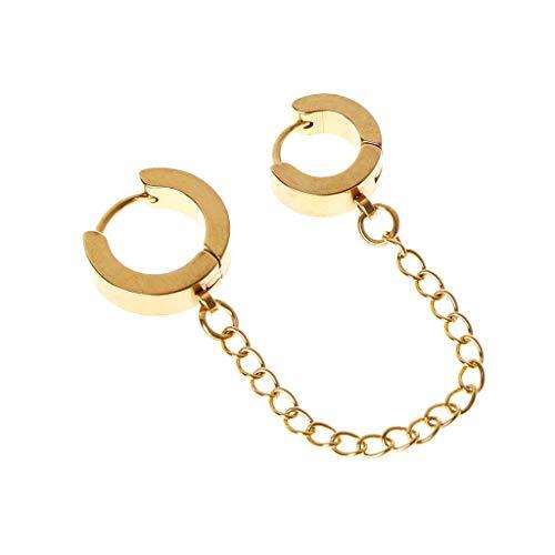 Beautiful Ear Piercing, Aretes, Earrings, Chain Earrings Ear Stud Jewelry Hip Hop...