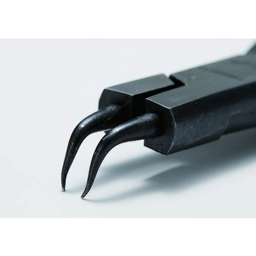 TRUSCO(トラスコ中山)『スナップリングプライヤー孔用Φ0.8曲爪50型(50-0B)』
