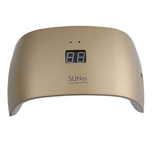 Auto Sensor 18W UV-lamp Nageldroger 9 STKS LED Wit Licht Lampen met LCD Timer Fit Uitharding Alle Nagellak Gel Art Tools