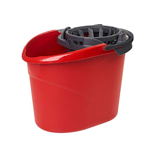 O-Cedar Quick Wring Bucket 2.5 Gallon Bucket With Wringer