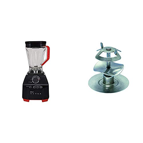 Oster Versa Blender | 1400 Watts | Stainless Steel Blade | Low Profile Jar | Perfect for Smoothies, Soups, Black & Milkshake Blade
