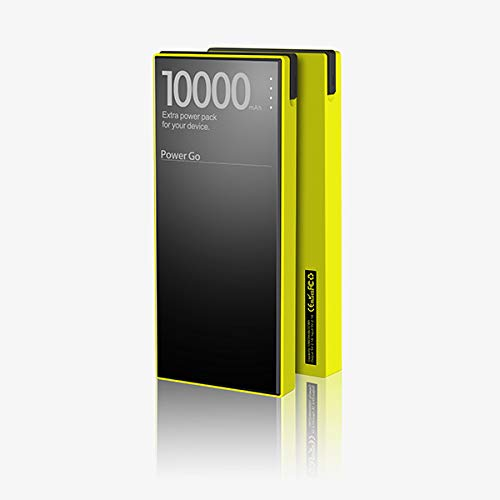 Power Bank 10000 groen (waterdicht + Lightning-aansluiting)