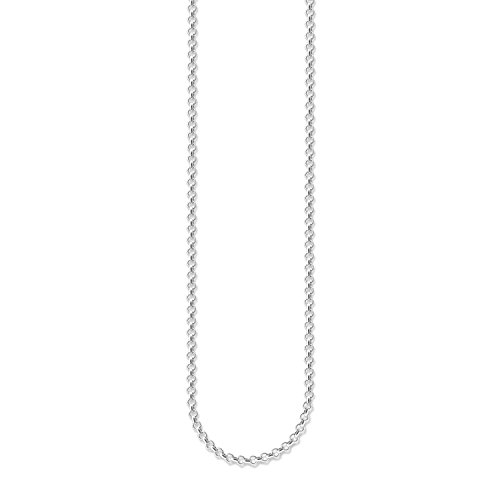 Thomas Sabo Women Round Belcher Chain 925 Sterling...