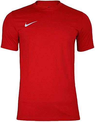 NIKE Herren Kurzarm T-Shirt Trikot Park VI, Rot (University Red/White/657), XL