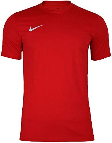 Nike Park VI Camiseta de Manga Corta para hombre, Rojo...