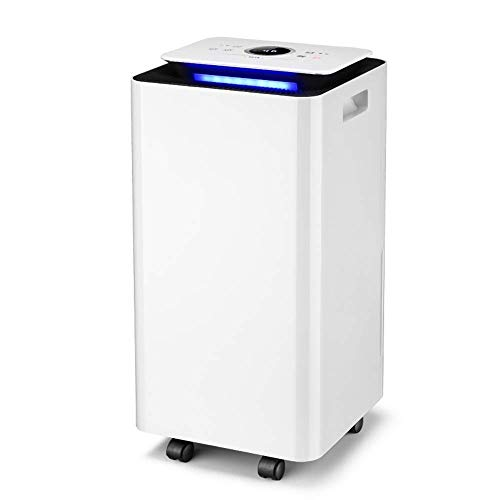 Fantastic Deal! WSJTT Dehumidifier Household Bedroom Small Air Dehumidifier Basement Industrial Dehu...