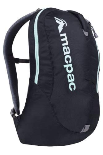 Macpac Kahuna 1.1 18L Backpack (Black/Ice Green)