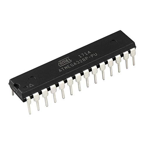 Silverdee Professioneller 8 Bit Mikrocontroller Mikrocontroller 28 Pins ATmega328P-PU Prozessor 1,8V bis 5V Hubschrauber Zubehör