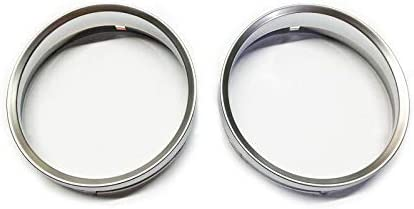 Haneex Chrome Silver Matt Speedometer Rin Inventory cleanup selling sale Gauge Year-end annual account Dashboard