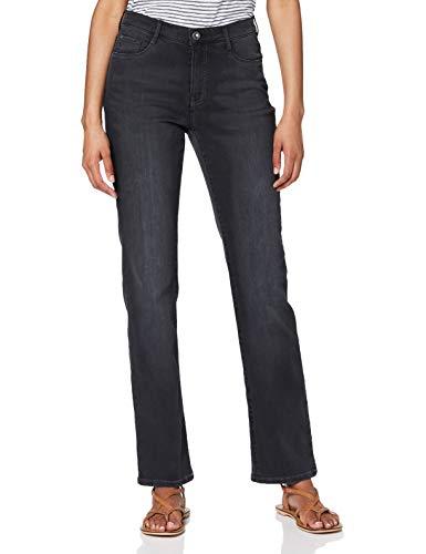 BRAX Damen Style Carola Blue Planet Nachhaltige Jeans, Used Black, 44K